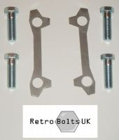 M16 Brake Caliper to Strut Bolts + Locking Tabs Vented Discs - MK1 ESCORT